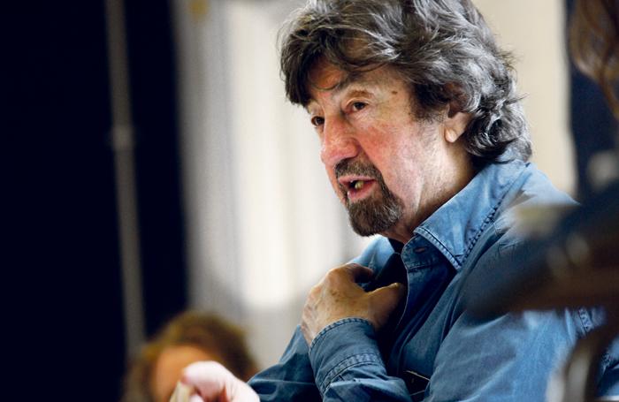 Trevor Nunn in rehearsal for Agnes Colander. Photo: Simon Annand