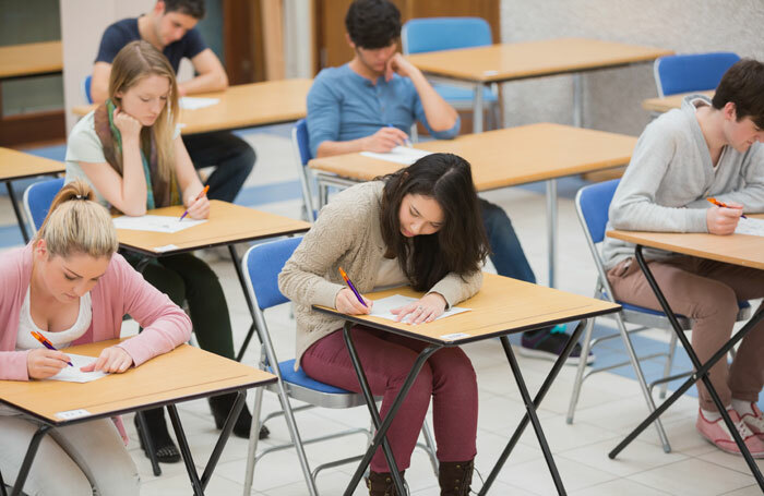 The number of A-level drama students in England fell by 6% compared with 2017. Photo: Wavebreakmedia/Shutterstock
