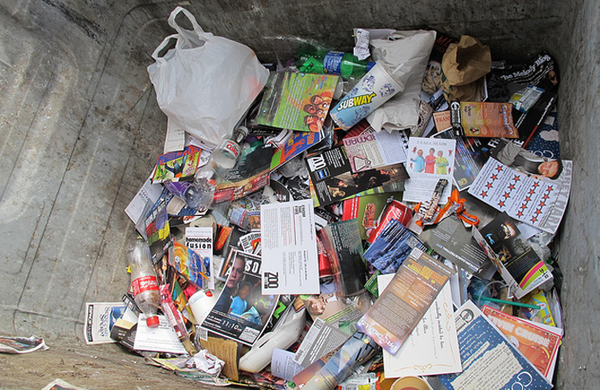Lyn Gardner: As Edinburgh drowns in discarded flyers, companies should think about sustainability