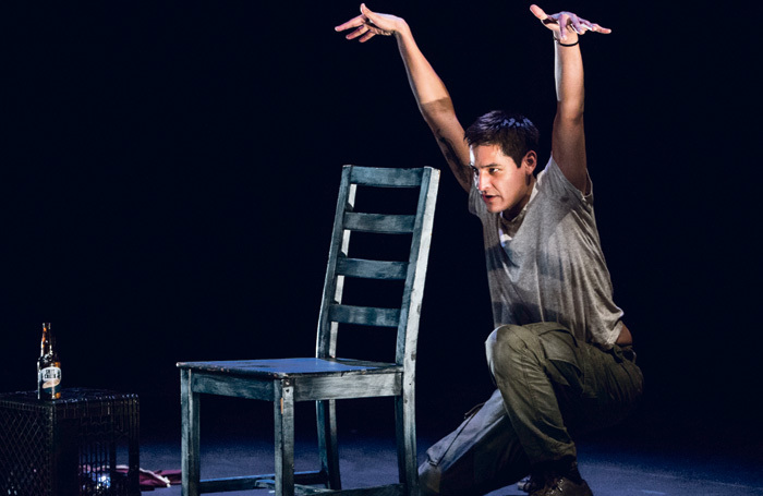 Huff, by indigenous theatremaker Cliff Cardinal. Photo: Jamie Williams