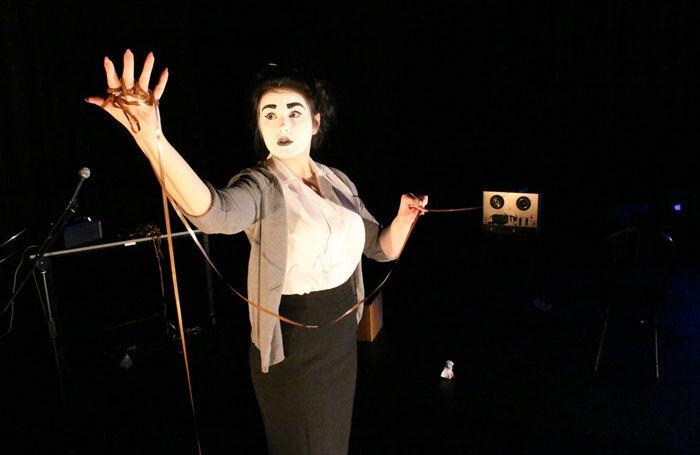 Jessie Coller in Hymns for Robots. Photo: Arnim Freiss
