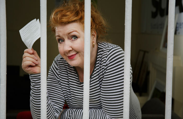 Libby McArthur in In for a Penny at Gilded Balloon Teviot Row, Edinburgh