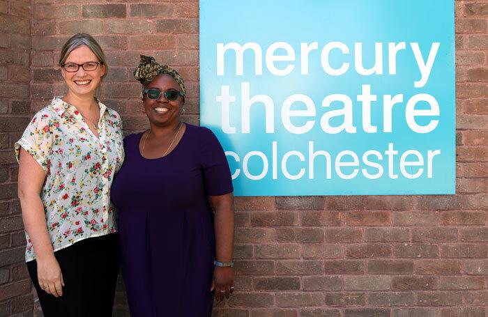 Katy Griffiths and Deborah Sawyerr, joint deputy executive directors of Mercury Colchester