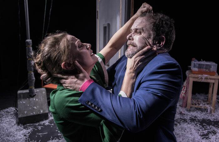 Fiona Creese and Gareth Brierley in The Last Straw. Photo: Zadoc Nava
