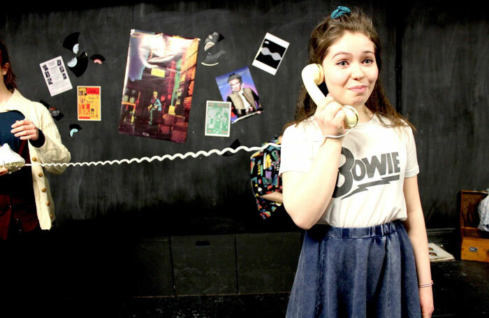 Emily Costello in Boxless Theatre's Loop