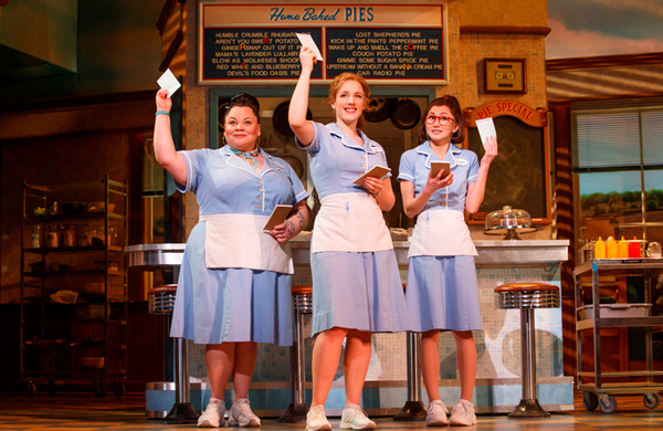 Broadway musical Waitress announces West End transfer