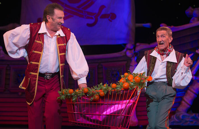 The Chuckle Brothers in panto at Wolverhampton's Grand Theatre: childrens's show ChuckleVision helped foster a life-long interest in the arts in a generation of youngsters
