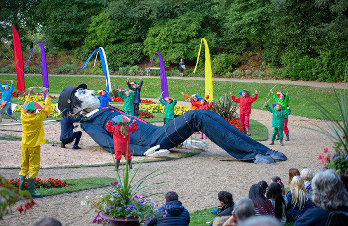 Gulliver's Travels at Queen's Park, Bolton. Photo: Bolton Documentary Photography