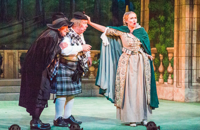 Scene from Haddon Hall performed by the National Gilbert and Sullivan Opera Company. Photo: Jane Stokes