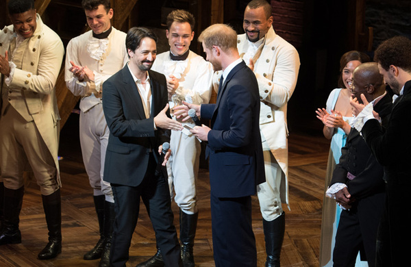 In pictures (September 6): Prince Harry and Lin-Manuel Miranda at Hamilton, Thriller Live celebrates Michael Jackson's birthday and more