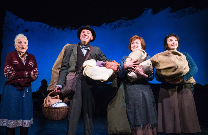 The cast of The Yellow on the Broom at Dundee Rep. Photo: Tommy Ga Ken Wan