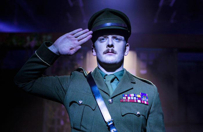 Chris Jenkins in The Return of the Soldier at Hope Mill Theatre, London. Photo: Phil Tragen