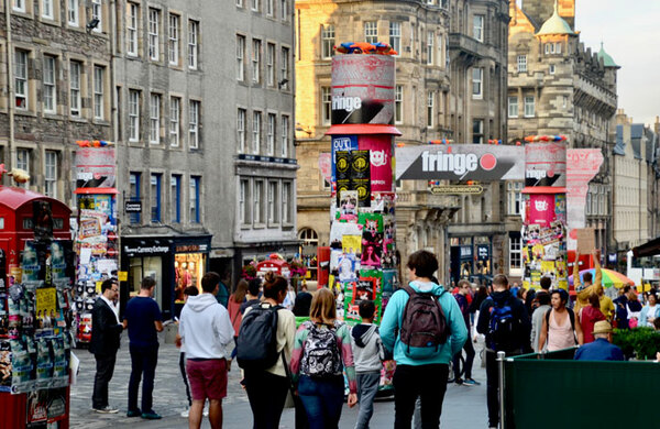 Edinburgh Fringe records increased ticket sales for sixth year running