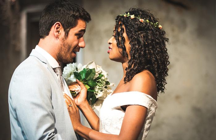 Federico Trujillo and Rachael Ofori in Blood Wedding at Omnibus, London. Photo: Nick Arthur Daniel