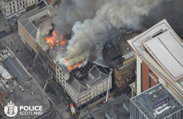 Fire-damaged Pavilion Theatre in Glasgow to reopen at a cost of more than £1m
