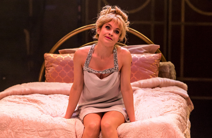 Kaisa Hammarlund in Sweet Charity at the Manchester Royal Exchange in 2016. Photo: Richard Davenport