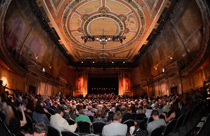 BBC Proms at Alexandra Palace, London. Photo: Chris Chrustodoulou