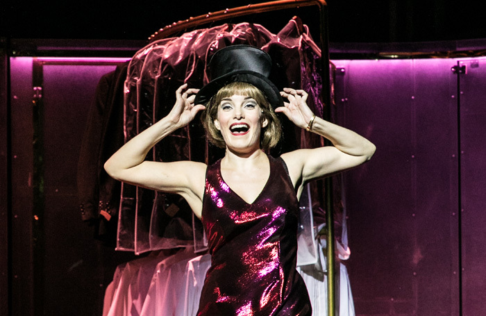 Rebecca Trehearn in Sweet Charity at Nottingham Playhouse