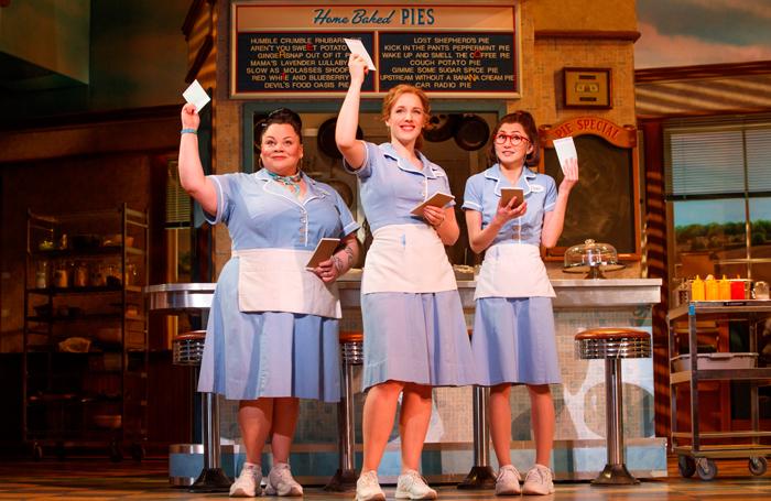 The original Broadway production of Waitress. Photo: Joan Marcus