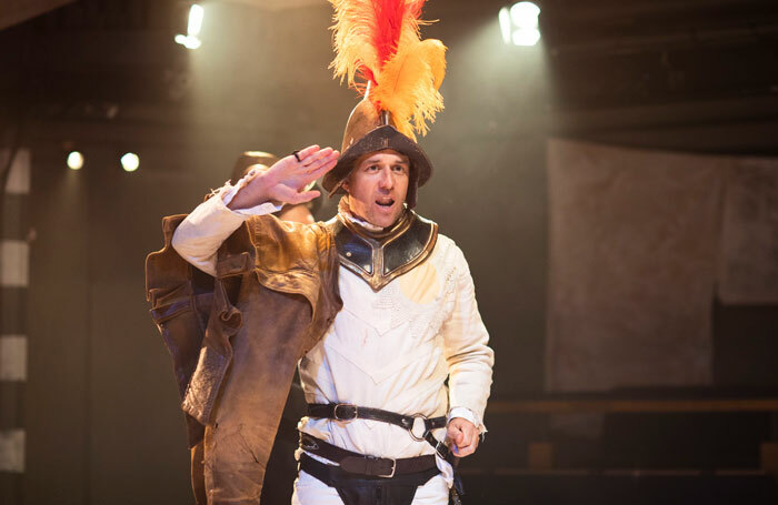 Tim Delap in Losing Venice at the Orange Tree Theatre. Photo: Helen Maybanks