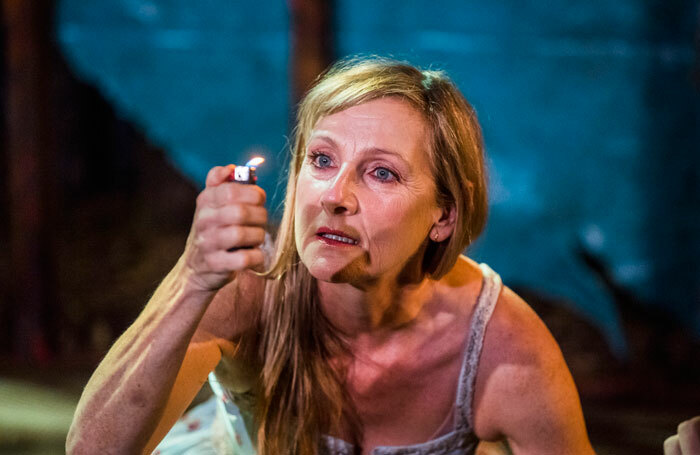 Lesley Sharp in The Woods at London's Royal Court. Photo: Tristram Kenton