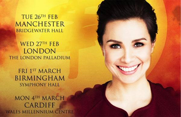 Miss Saigon's Lea Salonga announces first solo UK tour