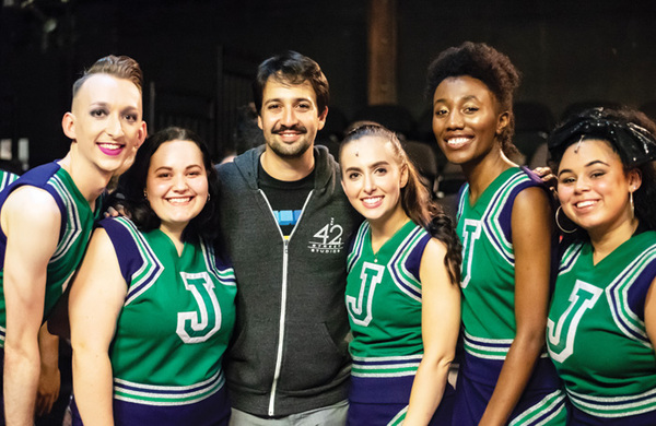 In pictures (September 13): Lin-Manuel Miranda visits Bring It On, Prince Charles at the Old Vic and more