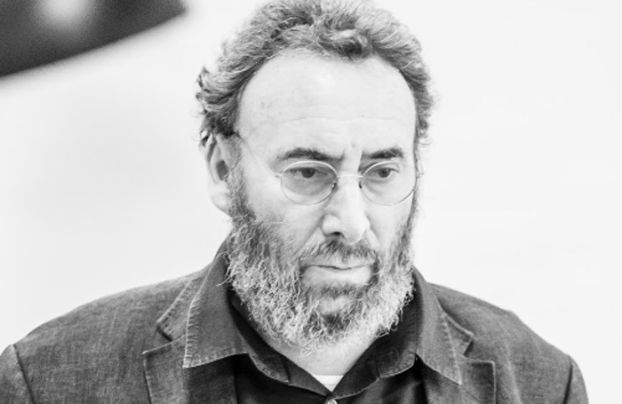 Antony Sher in rehearsals for the Pinter at the PInter season of one-act plays