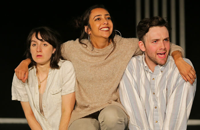 Katherine Laheen, Ashling O'Shea and Cormac Elliott. Photo: Connor Harris