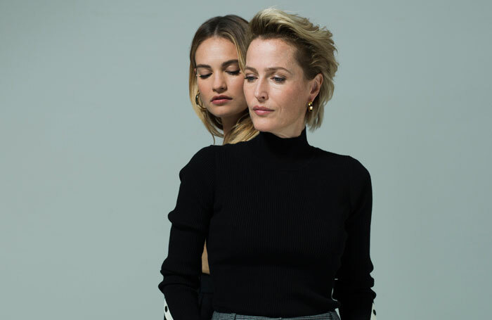 Gillian Anderson and Lily James to star in All About Eve