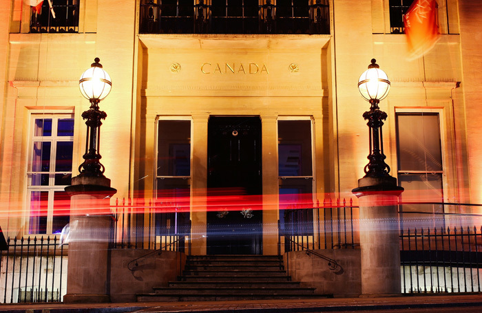 The Canada High Commission in London. Photo: Andrei Haric/Shutterstock