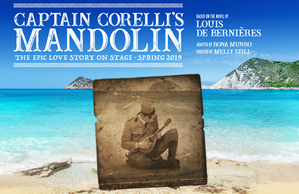 Stage adaptation of Captain Corelli's Mandolin to tour the UK