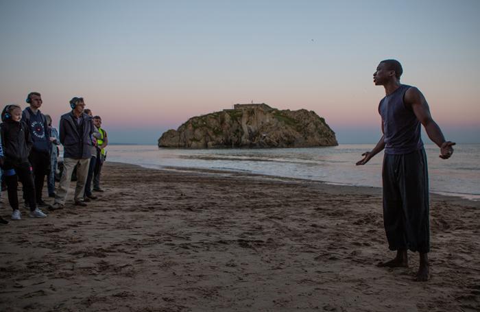Ebenezer Gyau in Tide Whisperer. Photo: Jennie Caldwell
