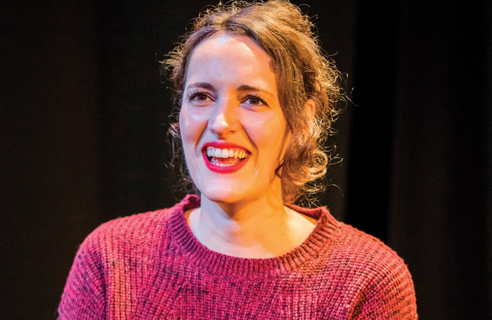 Phoebe Waller-Bridge in Fleabag on stage, which she then took to screen. Photo: BBC