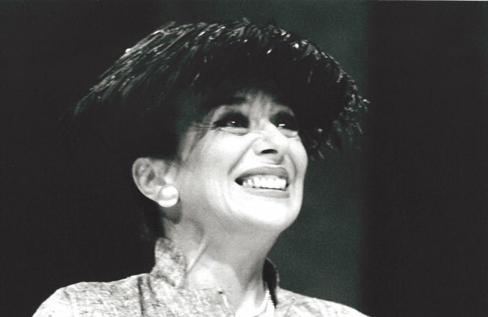 Jacqueline Pearce in Shadowlands at the Belgrade Theatre, Coventry, in 1992