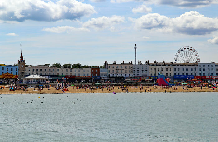 Margate seafront. Photo Dave Smith/Shutterstock