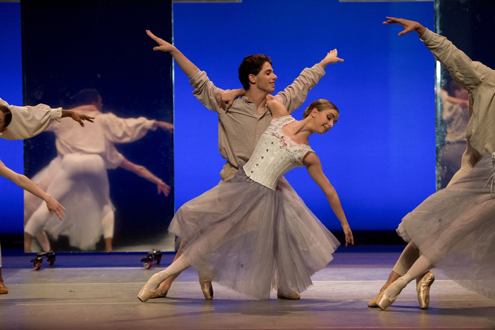 New English Ballet Theatre's Remembrance at Peacock Theatre, London. Photo: Deborah Jaffe