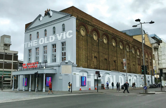 The Old Vic theatre in London
