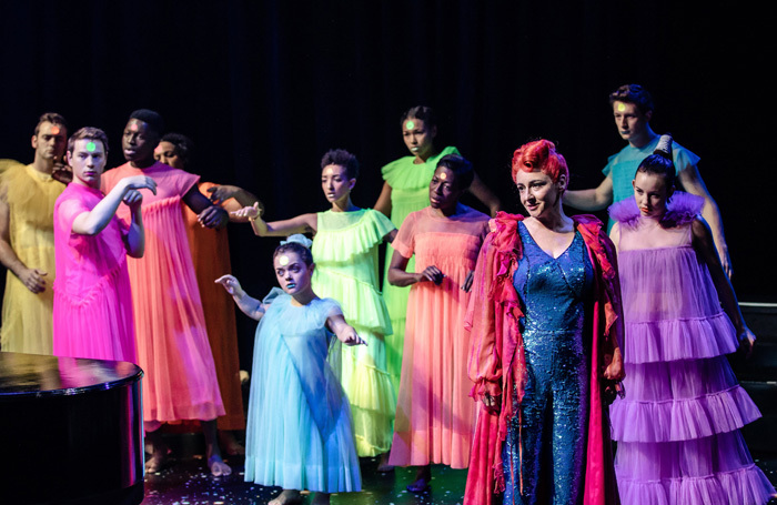 Pandora Colin and the cast of A Midsummer Night's Dream at Crucible Theatre, Sheffield. Photo: The Other Richard