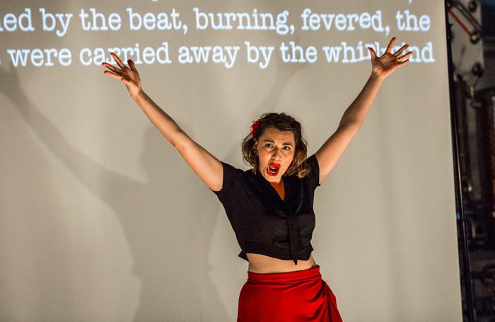 Chloe Latchmore in Pop-Up Opera's La Tragedie de Carmen. Photo: Ugo Soffientini