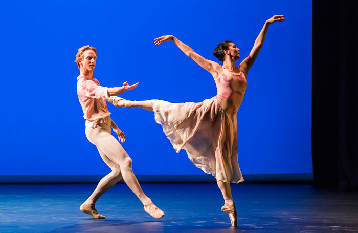 David Hallberg and Natalia Osipova in The Leaves Are Fading from Pure Dance at Sadler's Wells. Photo: Tristram Kenton