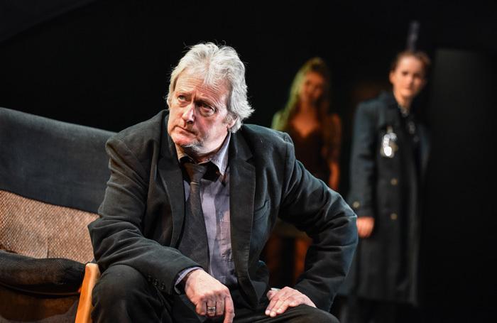 Charles Lawson in Rebus: Long Shadows at Birmingham Repertory Theatre. Photo: Robert Day