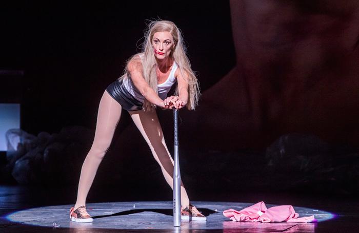 Allison Cook in Salome at London Coliseum. Photo: Tristram Kenton