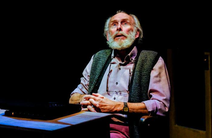 Christopher Godwin in Better Off Dead at the Stephen Joseph Theatre, Scarborough. Photo: Tony Bartholomew