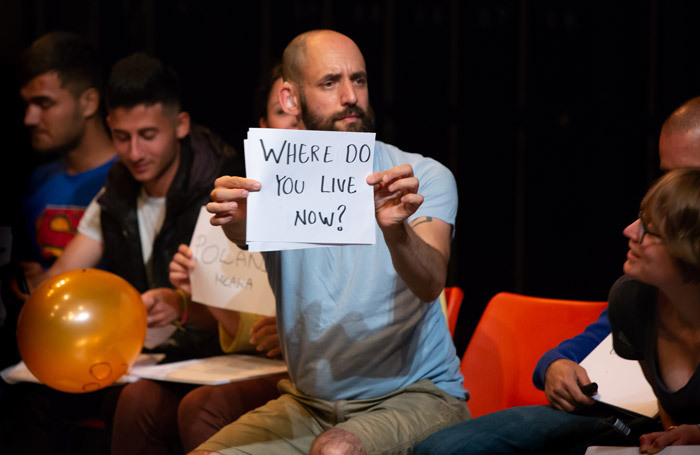 Jonny Cotsen in English at Wales Millennium Centre, Cardiff. Photo: Toby Farrow