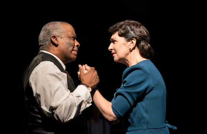 Don Warrington and Maureen Beattie in Death of a Salesman at Royal Exchange Theatre, Manchester. Photo: Johan Persson