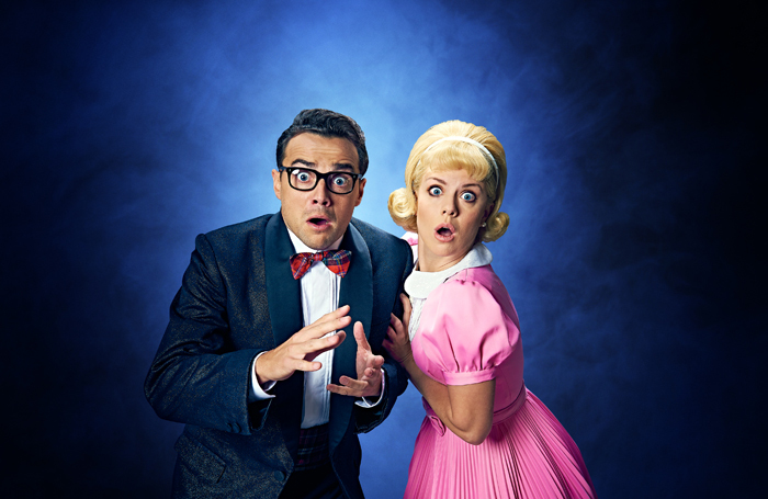 Ben Adams and Joanne Clifton as Brad and Janet in The Rocky Horror Show