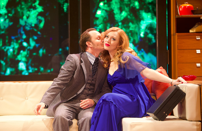 Duncan MacInnes and Katharine Bennett Fox in Abigail's Party at Hull Truck Theatre. Photo: Paul Floyd Blake