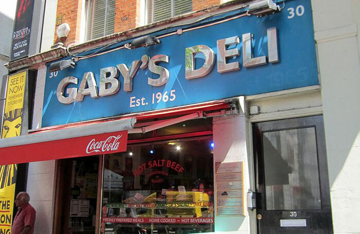 Gaby's Deli has been based on Charing Cross Road for 53 years