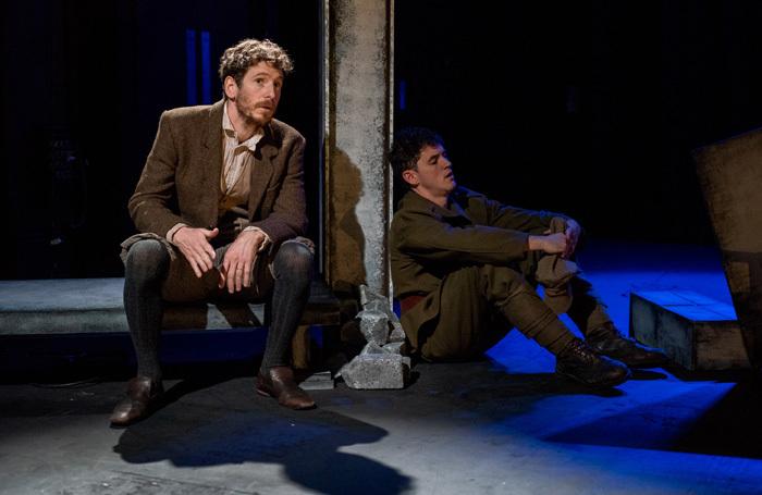 Gerard Kearns and Robbie Williams in To Have to Shoot Irishmen at Omnibus, London. Photo: Mike Massaro